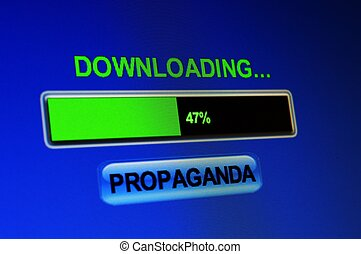 Descargar,  Propaganda