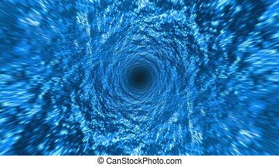 Descent Into Ocean Whirlpool