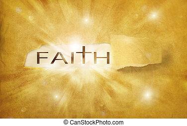 descoberto, fé