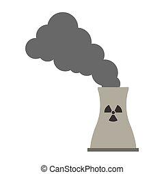 desecho tóxico, contaminación, icono