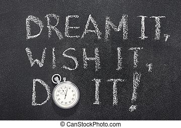desejo, relógio, sonho