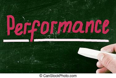 desempenho, conceito