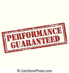 desempenho, guaranteed-stamp