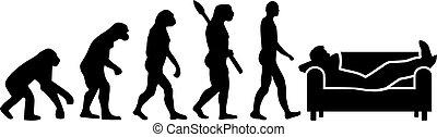 desempleado, -, evolución, desempleados