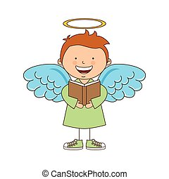 desenho, anjo