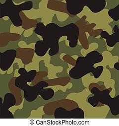 desenho, camuflagem