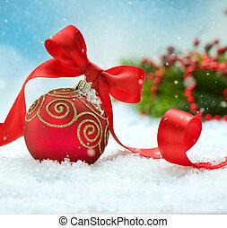 desenho, cartão natal