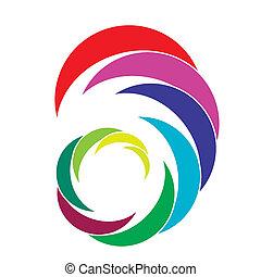 desenho, companhia, logotipo