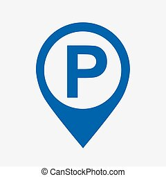desenho, estacionamento