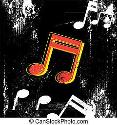 desenho, grunge, música