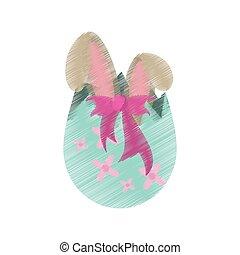 desenho, ovo páscoa, surpresa, coelhinho