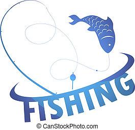 desenho, pesca