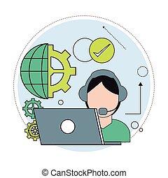 desenho, tecnologia, centro, dados