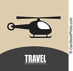 desenho, transporte