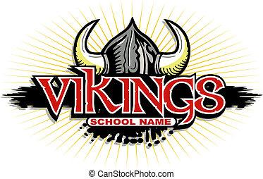 desenho, vikings