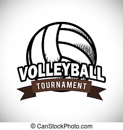 desenho, voleibol