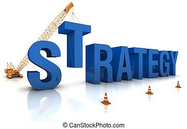 desenvolvendo, um, estratégia