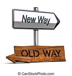 desenvolvimento, conceito, pessoal, escolher, maneira, melhor