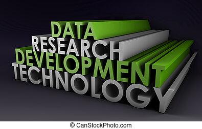 desenvolvimento, pesquisa