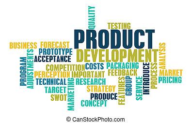 desenvolvimento, produto