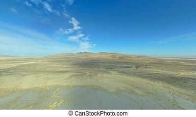Desert - 3D CG rendering of desert.