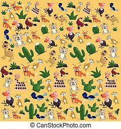 Desert Animal Background