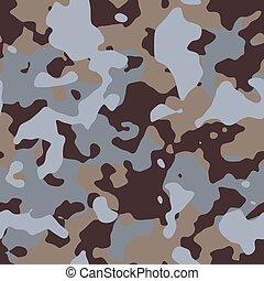 Desert Camouflage. Seamless Tileable Texture.