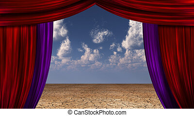 Desert Curtains
