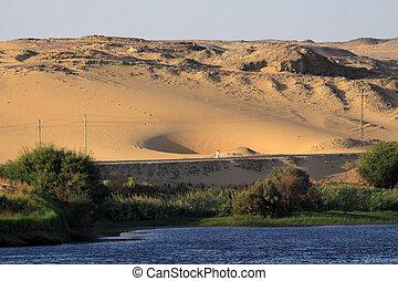 Desert in Egypte