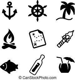Desert Island Icons