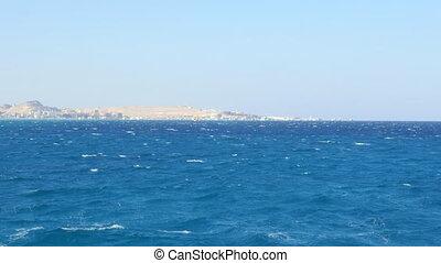 Desert Island in the Open Sea
