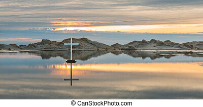 Desert Lake Cross