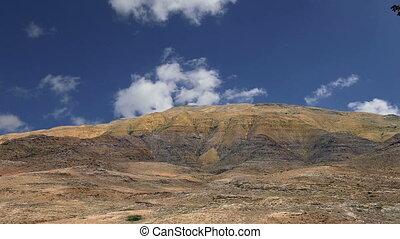 desert mountain landscape, Jordan, Middle East