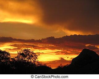 desert Mountain Sky