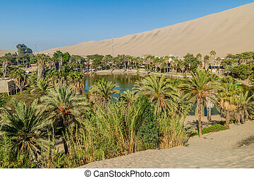 Desert oasis Huacachina