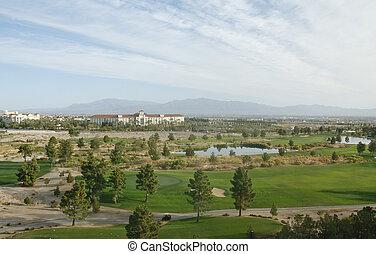 Desert Resort Golf Course