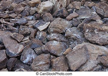 Desert rocks, Atlas mountains, Tunisia