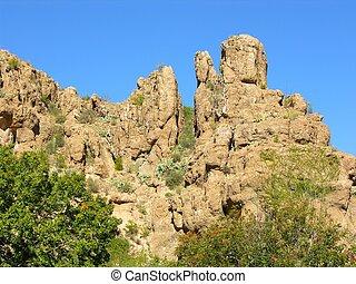 Desert Rocks One