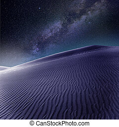 Desert sand dunes in Maspalomas Gran Canaria - Desert sand...