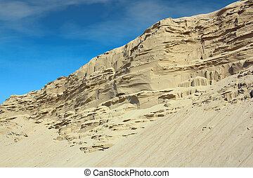desert sand hill