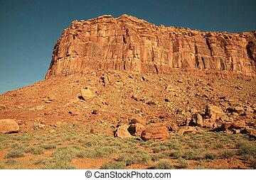 Desert sandstone cliffs i