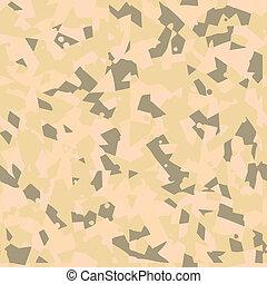 Desert seamless camouflage pattern