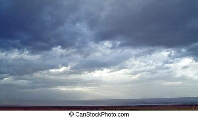 Desert sky (timelapse)