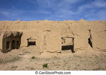 Desert Village in Iran.