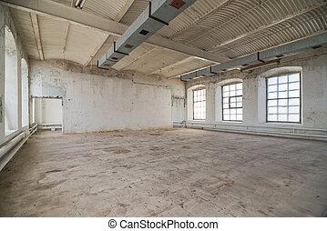desertado, armazém