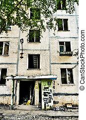 desertado, casa, antigas