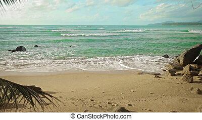 Deserted beach of Andaman Sea