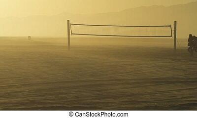 Deserted Beach Volleyball 2