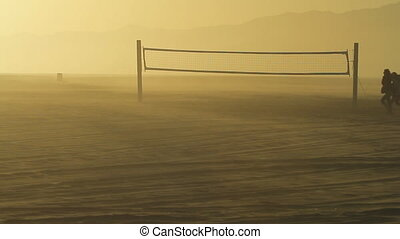 Deserted Beach Volleyball 2