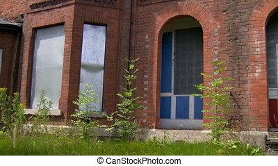 Deserted community houses